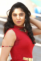 Telugu Actress Zahida Sam Latest Pos in Red Gown at RF Films New Movie Opening  0015.JPG