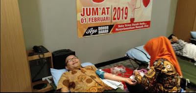 Rayakan HUT ke-5, Yunna Hotel Gelar Donor Darah