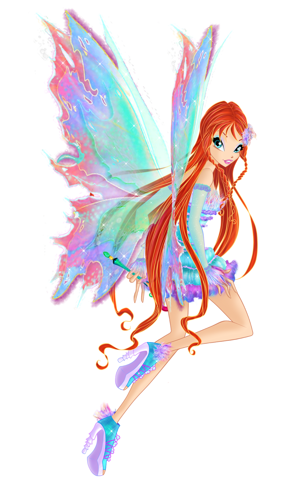 Winx Club Fairies: Mythix Transformation