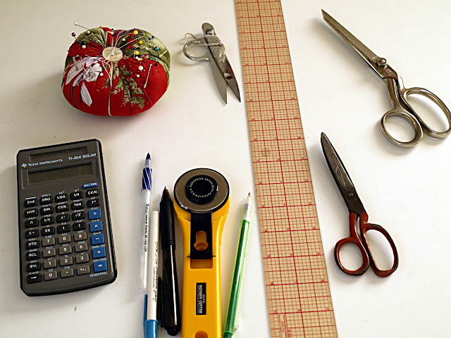 Sewing tools that need a home