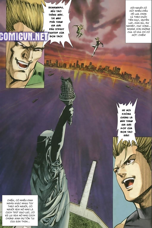 Capcom vs SNK Ngoại truyện chap 5 - Trang 9