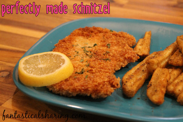 Perfectly Made Schnitzel // This traditional German dish is super easy and perfectly made! #recipe #german #pork