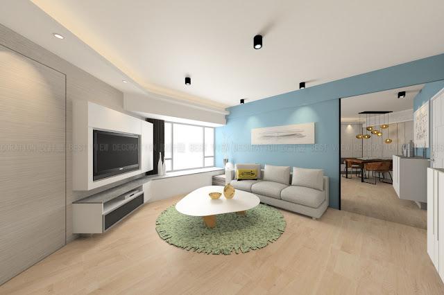 藍田 麗港城室內設計單位(LAGUNA CITY)