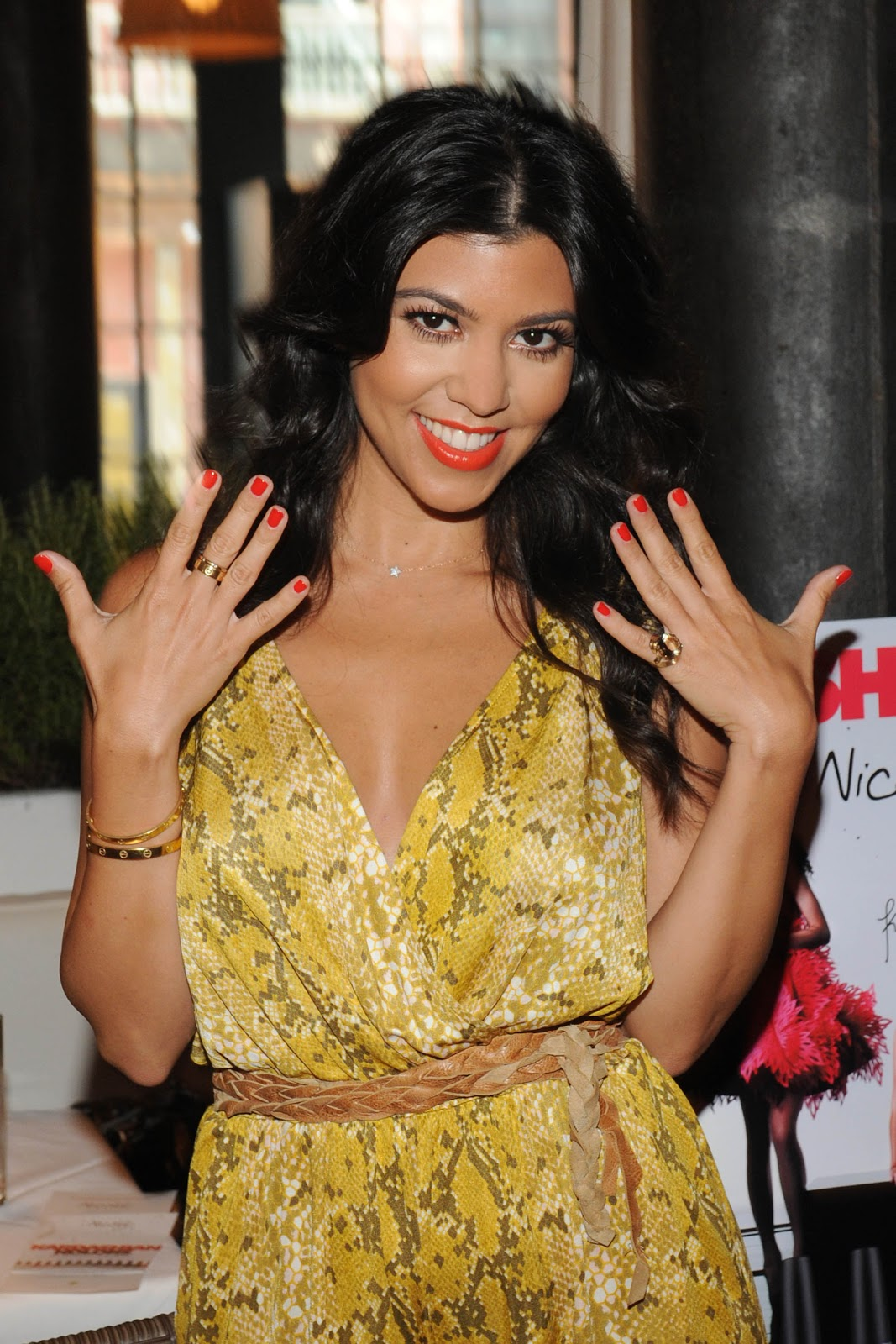 Kourtney Kardashian And Kylie Makeup: Kardashian Kolors From Nicole By OPI