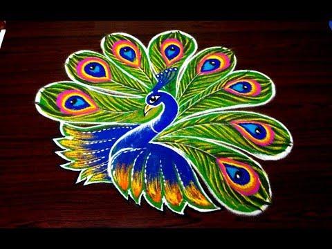 Diwali Rangoli Designs, Simple Rangoli Designs, Simple Rangoli Images