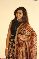 Lasya looks super cute in black choli Saree at Raja Meru Keka Press Meet ~  Exclusive 102.JPG