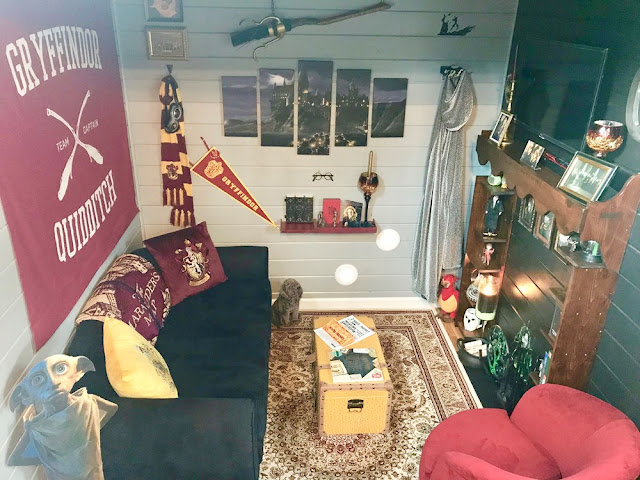Harry Potter tiny house