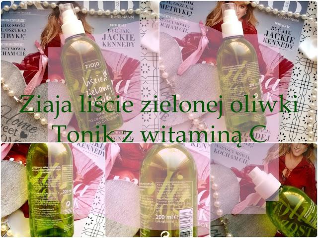 Ziaja liście zielonej oliwki tonik z witaminą C