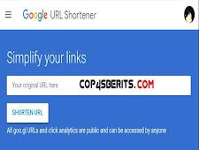 Cara Membuat Google URL Shortener Untuk Share Artikel
