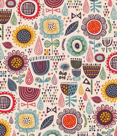 Vintage Textile Design 32