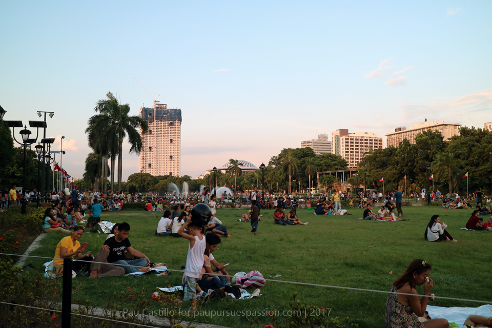Sundays at Luneta Park, Philippines