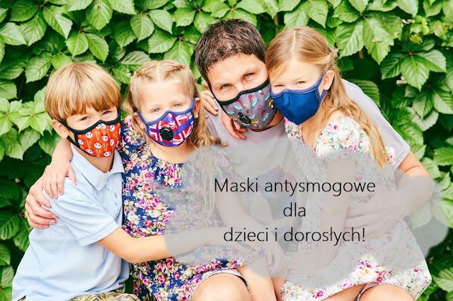 Maski antysmogowe dla dzieci i dorosłych - Dlaczego warto je używać?