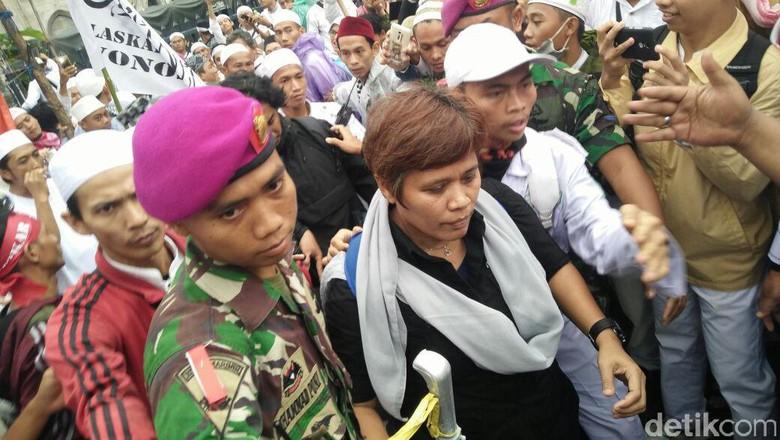 Wartawati Metro TV Yang Babak Belur Dihajar Jamaah 112 Akhirnya Melapor ke Polisi, Ini Dia Orangnya