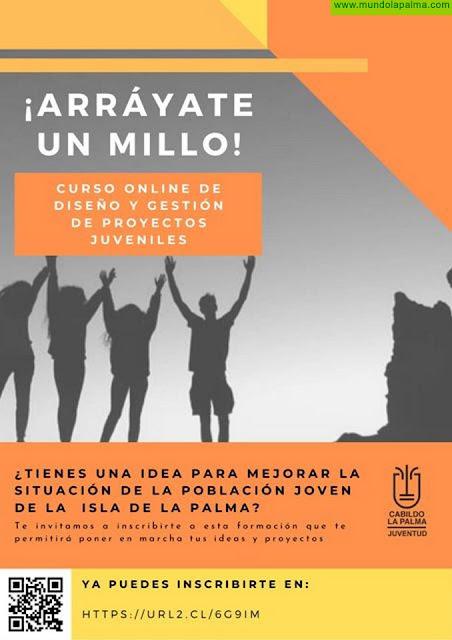 El Cabildo fomenta la creación de eventos juveniles a través de un nuevo curso on line