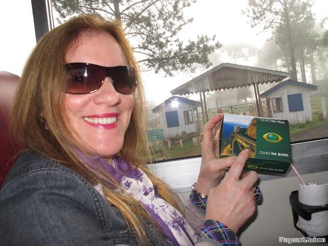 Passeio de trem pela Serra do Mar paranaense