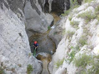 Barranc de Sant Ponç, Perles, Alt Urgell, baranquisme, canyoning