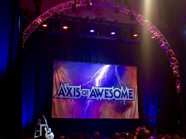 Edinburgh Fringe Axis of Awesome Gilded Balloon Teviot