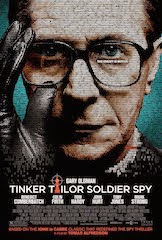 Official Film Poster for Tinker Tailor Soldier Spy - picture of Gary Oldman as George Smiley