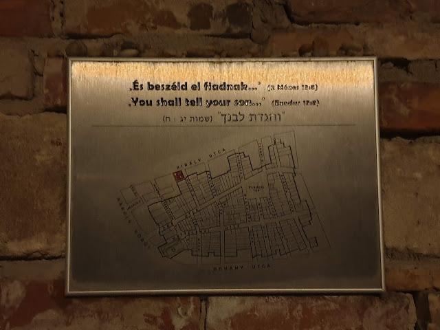השלט עם מפת הגטו