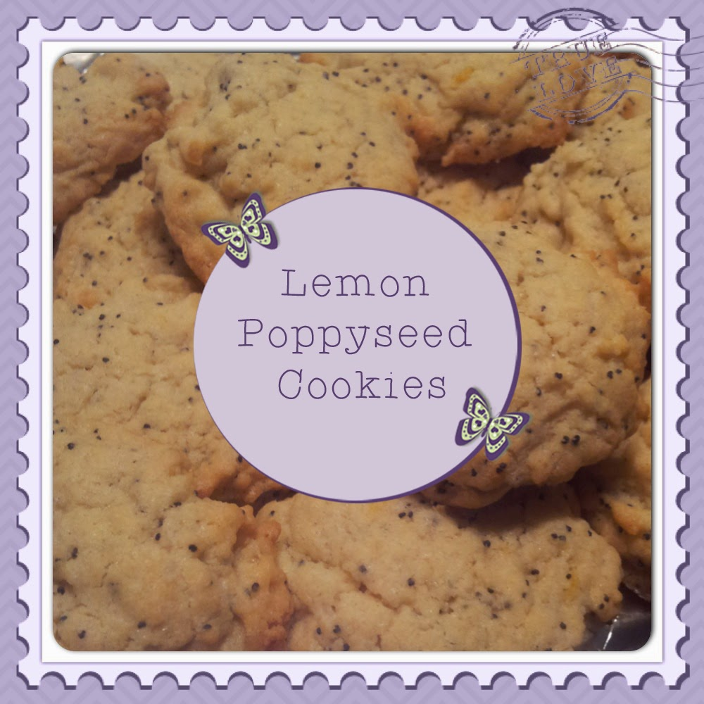 Lemon and Poppyseed Cookie Recipe from Butterfly-Crafts