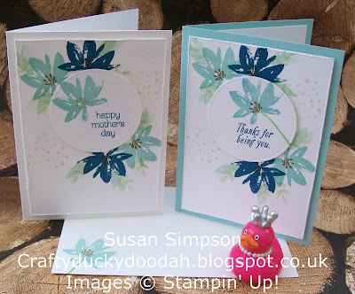Stampin' Up! UK Independent Demonstrator Susan Simpson, Craftyduckydoodah!, Sale-A-Bration 2017, Avant Garden, Gorgeous Grunge, Supplies available 24/7,