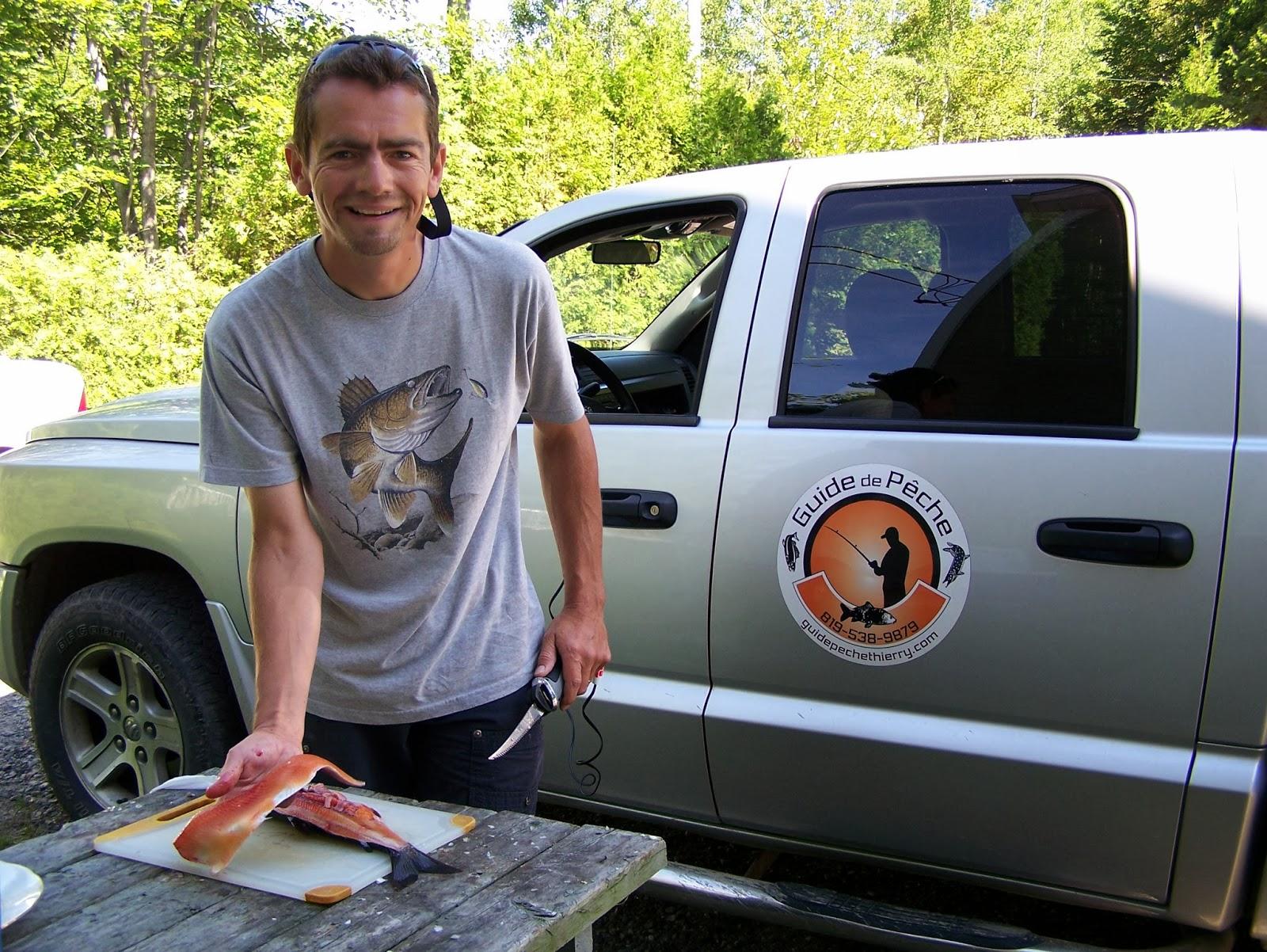 pêche à la grise, pêche au Québec, article sur la pêche, Daniel Lefaivre, pêcheur professionnel, guide de pêche