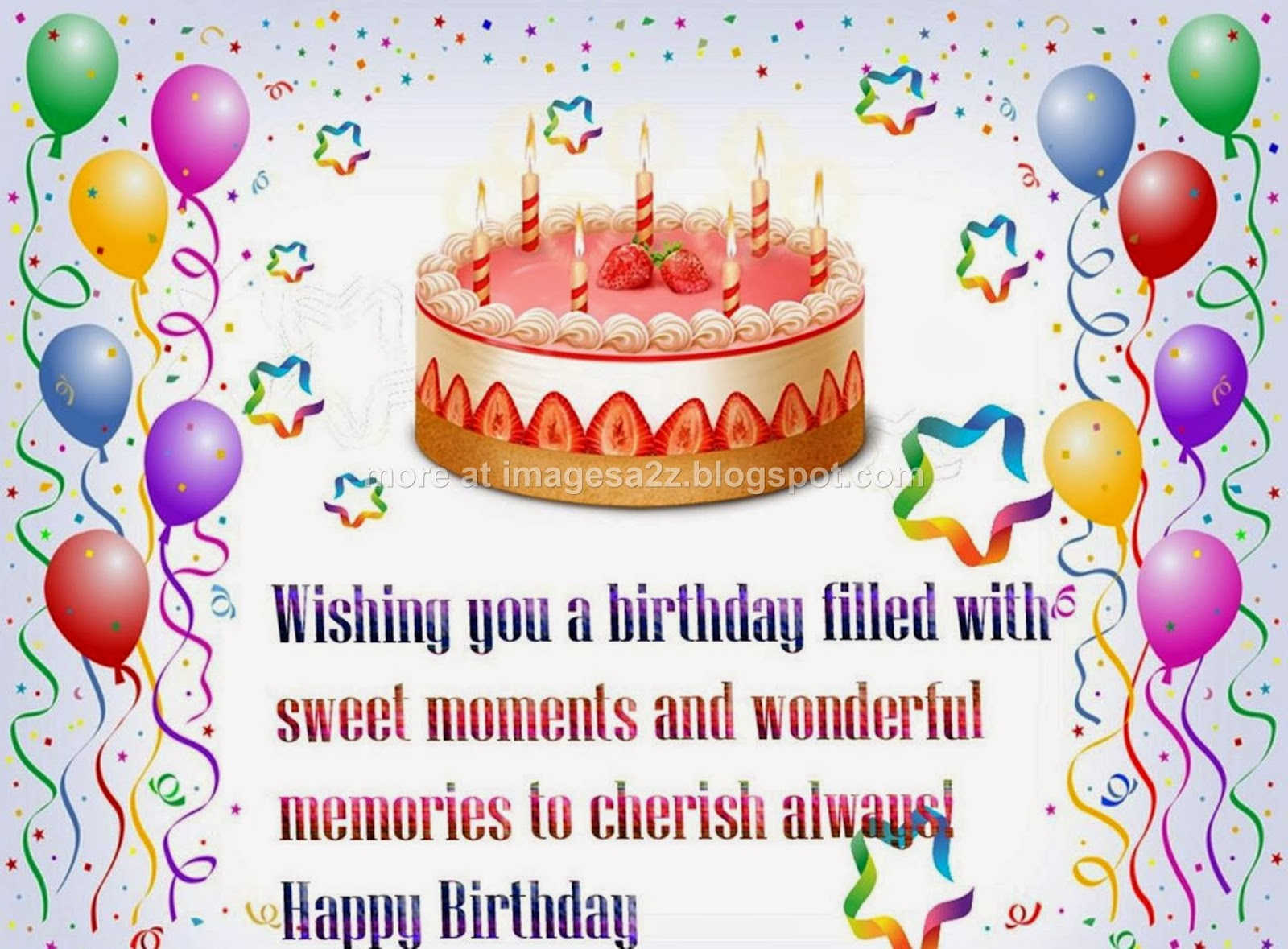 Happy Birthday Wishes For Friend Quotes Cake