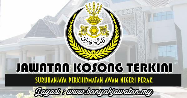 Jawatan Kosong 2018 di Suruhanjaya Perkhidmatan Awam Negeri Perak (SPANP)