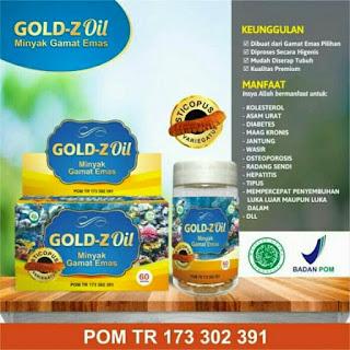 "Kapsul minyak gamat emas ""GOLD-Z Oil"" | Inovasi pertama di Indonesia | Hub. Farikhin 0856.4229.2014"