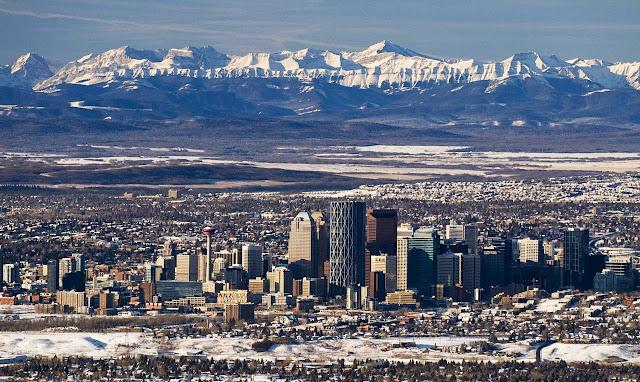 Calgary no inverno