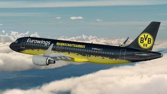 Eurowings nuevo patrocinador de Borussia
