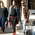 Pharrell Williams and his very pregnant wife step out in LA