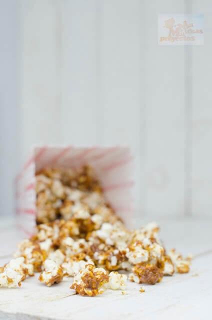 receta de como preparar palomitas de caramelo salado3