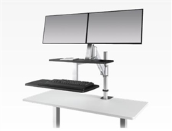 Sit To Stand Workstation at OfficeFurnitureDeals.com