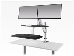 Sit To Stand Workstation at OfficeFurnitureDeals.com