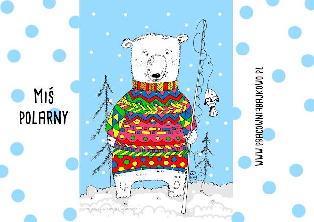 209* Pokoloruj sweter misia