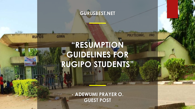 Rugipo Payment Schedule and Screening Processing 2018