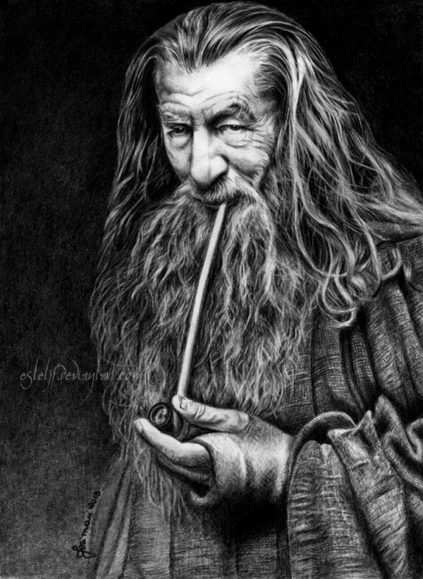 01-Gandalf-The-Grey-Ian-McKellen-Josi-Fabri-Esteljf-The Hobbit-LotR-www-designstack-co