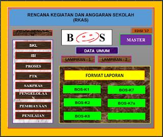 Aplikasi RKAS SMA Tahun 2018 Excel Sesuai Juknis BOS