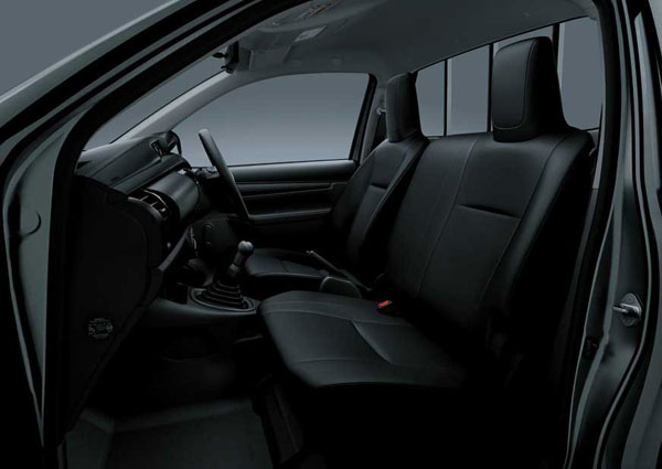 Interior All New Toyota Hilux S Cab