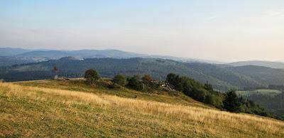 Panorama w kierunku południowym.