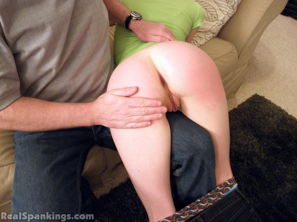 How do i spank my husband over my knee