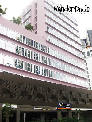 Value Hotel, Singapore, The Wander Dude, Travel, Hotels, Asia,