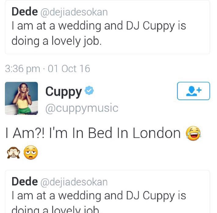 Man caught red-handed lying about DJ Cuppy