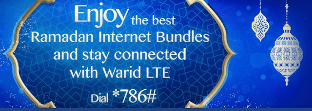 warid ramadan internet offer