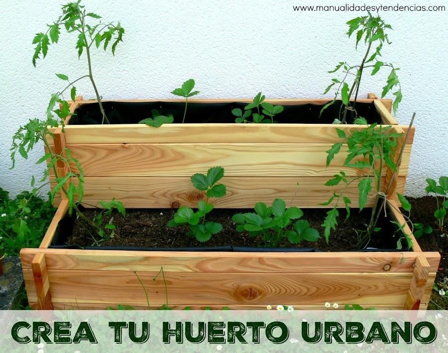 Tutorial para hacer un huerto urbano en mesa de cultivo
