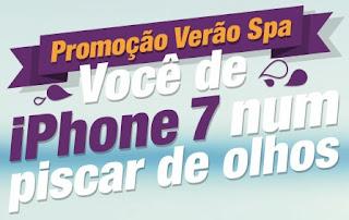Cadastrar Promoção Voucher Spa das Sobrancelhas iPhone 7