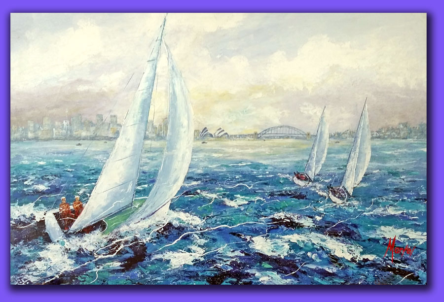 Canvas Painting Repairs Sydney