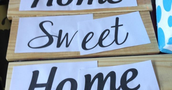 The Sassy Homemaker Home Sweet Home Wooden Sign