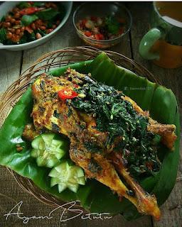 Resep Ayam Betutu Bali Ala Rumahan @haneedah
